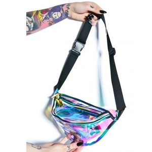 Handbags - Rave Holographic Fanny Pack Shiny Sling Waist Bag